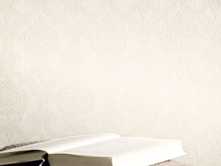 Architects Paper 牆壁與地板壁紙 White