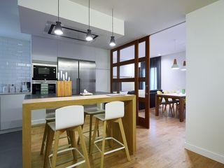 Diseño de Cocina Abierta al Salón Línea 3 Cocinas Madrid Cocinas de estilo moderno