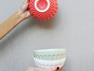 Bizcocho HouseholdHomewares Pottery Red