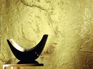 Architects Paper جدران وأرضياتورق الحائط Amber/Gold