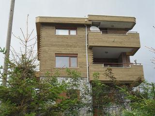 Gürsoy Kerestecilik Rustic style houses Wood Wood effect