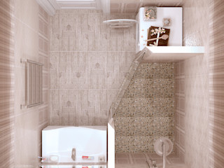 Студия интерьерного дизайна happy.design Classic style bathroom