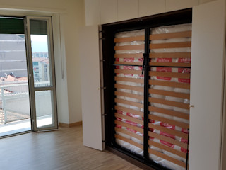 SIZEDESIGN SMART KITCHENS & LIVING BedroomWardrobes & closets Engineered Wood Beige