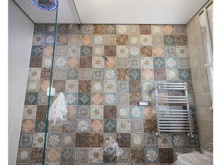 GINO SPERA ARCHITETTO Salle de bain méditerranéenne Blanc