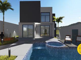 Estúdio 12b Modern pool