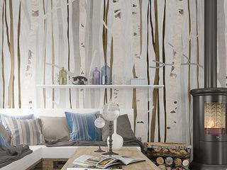 BandIt Design Вітальня Дерев'яні
