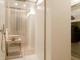 Ni.va. Srl Modern Bathroom Glass White
