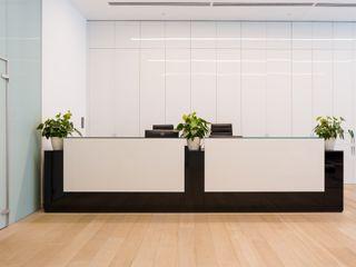 представительский офис в пентхаузе ARK BURO Офисные помещения в стиле модерн