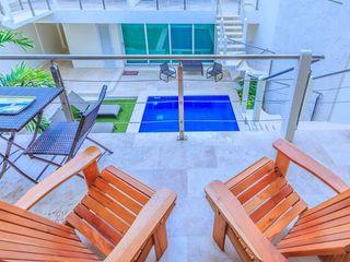 Natureflow® Balkon, Veranda & TerasMobilyalar Ahşap