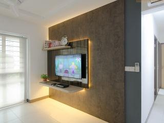 Designer House Living room Plywood Brown