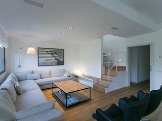 dom arquitectura Minimalist Oturma Odası