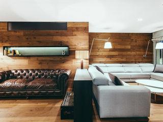 dom arquitectura Modern Oturma Odası