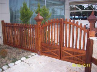 Gürsoy Kerestecilik Garden Fencing & walls Wood Wood effect