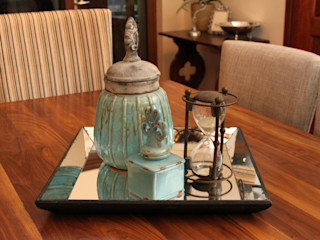 Inside Out Interiors Dining roomAccessories & decoration Turquoise