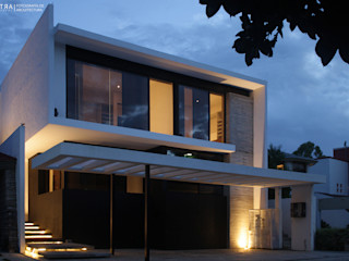 BAG arquitectura Modern Houses Concrete Black