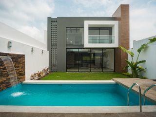 ROKA Arquitectos Piscine minimaliste Béton Gris