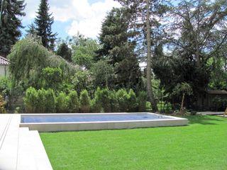Ein GFK Pool für die Hauptstadt Hesselbach GmbH Moderne Pools
