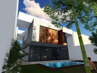 Vivienda Unifamiliar en Calle Juan Sebastian Bach, Almería ESTUDIOMORENATE Casas de estilo moderno