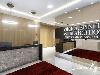 Only Design de Interiores Moderne Arbeitszimmer