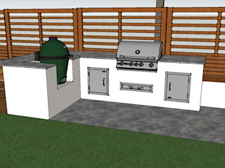 Outdoor Kitchen - BBQ Area Design Outdoors Limited