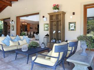 homify Country style balcony, veranda & terrace