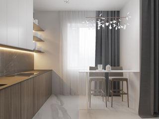 Espace Team Minimalist kitchen