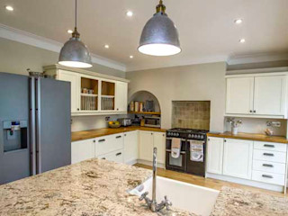Extension, Loft Conversion & Complete Refurbishment – Kingston Cube Lofts 現代廚房設計點子、靈感&圖片