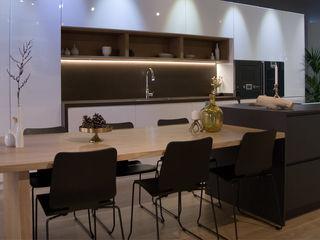 Muebles de Cocina Aries Вбудовані кухні Чорний