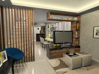 Danielle Barbosa DECOR DESIGN Modern Living Room