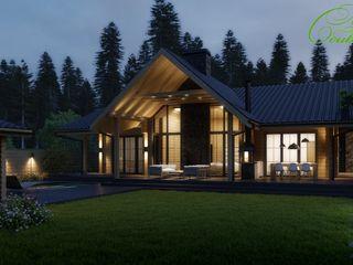 Компания архитекторов Латышевых 'Мечты сбываются' Casas campestres Madeira Multicolor