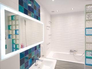 Dekory Nati Mediterranean style bathroom Ceramic Blue