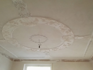 Hohlkehlengesimse und Stuckdecken Rekonstruktionen teils nach alten Befunden welschwalls.com Klassische Wohnzimmer