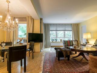 Stadtwohnung für Senioren Ohlde Interior Design Klassische Wohnzimmer Gelb