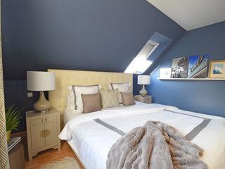 Kühl & elegant Schlafen Homemate GmbH Klassische Schlafzimmer Blau