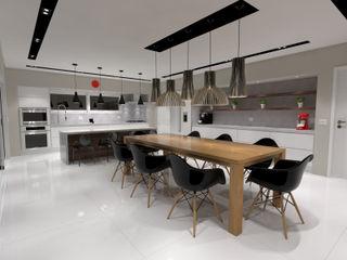 Jeffer Henrich Minimalist kitchen Wood White