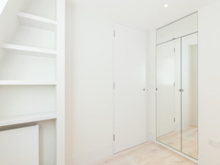 Modern flat – Loft Extension and Renovation, Fulham, SW6 TOTUS Modern style bedroom