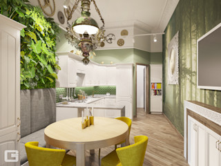 Giovani Design Studio Cocinas de estilo ecléctico