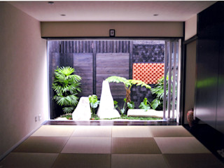 艸木/SOUMOKU Eclectic style garden Stone Black