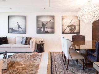 Reforma de apartamento - por Eduardo Borém Joana França Sala de jantarIluminação