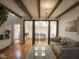 Placer en un piso vacacional - fotos de antes y después Lúmina Home Staging