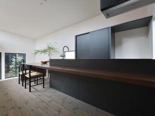 「 Real & Simple 」という家 TKD-ARCHITECT モダンな キッチン
