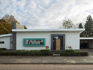 Villa Dautzenberg Van der Schoot Architecten bv BNA Moderne huizen Steen Wit