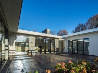 Villa Dautzenberg Van der Schoot Architecten bv BNA Moderne huizen Glas Grijs