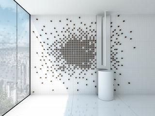 Pixel Tiles Alessandro Isola Ltd Pareti & PavimentiPiastrelle