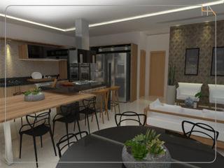 Humanize Arquitetura Modern style kitchen