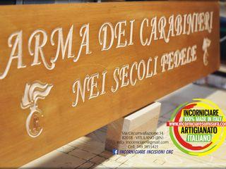 INCORNICIARE Korytarz, hol i schodyAkcesoria i dekoracje Lite drewno Pomarańczowy