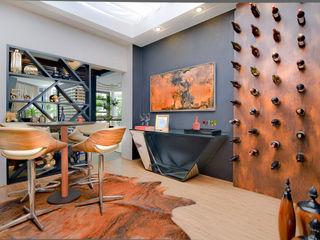 Sgabello Interiores Wine cellar MDF Wood effect