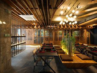 STARSIS 餐廳 木頭 Wood effect