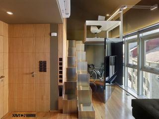 XaviCN Modern living room Wood Brown