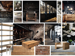 Sfeerhaven Industrial style houses Wood Black